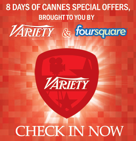Variety & Foursquare - Checking in the world of entertainment
