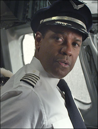 Denzel Washington In Flight Variety