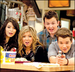 Miranda Cosgrove, Jennette McCurdy, Noah Munck and Nathan Cress