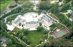 Aaron Spelling's mansion