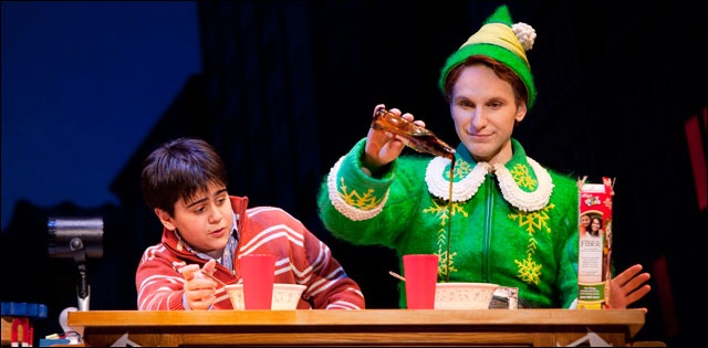 'Elf' musical returns to Broadway