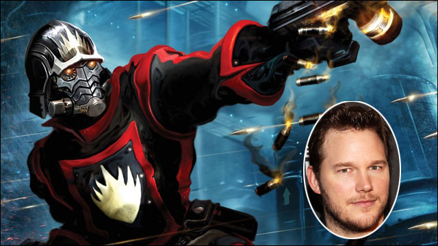 Chris Pratt falls hard for 'Guardians