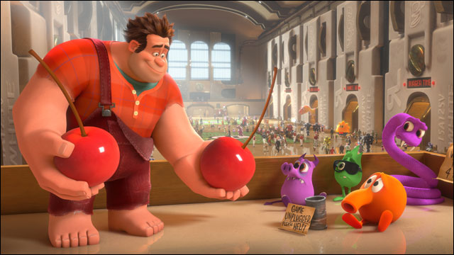 'Wreck-It Ralph' wins best animated feature