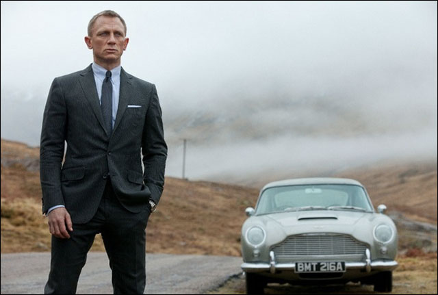 'Skyfall' a windfall for product placement