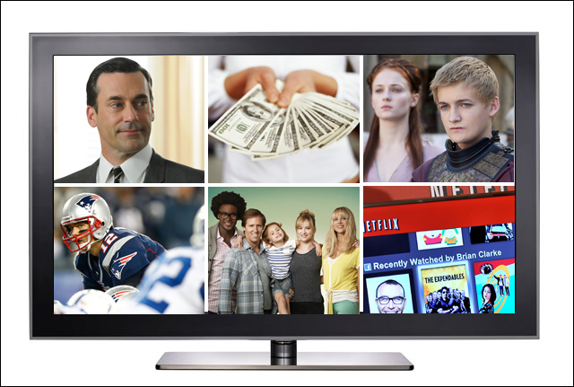 2012: The year pay TV fought