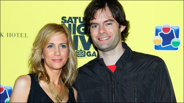 Kristen Wiig joins Bill Hader in