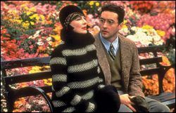 "Dianne Wiest and John Cusack starred in the 1994 film version of Woody Allen's period comedy ""Bullets Over Broadway."""