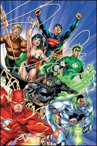 "DC Entertainment relaunched the Justice League comic books as part of ""The New 52"" last year."