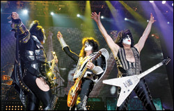 Kiss has long depended on tours along with multimedia licensing and record sales to keep its brand in the public eye.