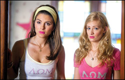 "Maria Menounos and Beth Behrs star in ""Adventures of Serial Buddies,"" which marks Menounos' feature producing debut."