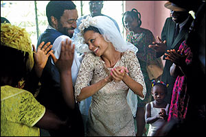 """Half of a Yellow Sun,"" with Chiwetel Ejiofor and Thandie Newton, shot in Nigeria with a largely local crew."