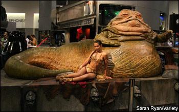 Princess Leia Jabba The Hutt Jabba The Hutt And Princess Leia Costume